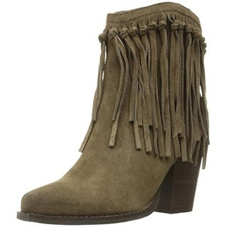 Very Volatile Womens Cupids Ankle Boots Suede Fringe