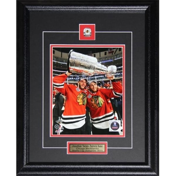 41f6cf823c1 Shop Jonathan Toews & Patrick Kane Chicago Blackhawks 2015 Stanley Cup -  Free Shipping Today - Overstock - 26125430