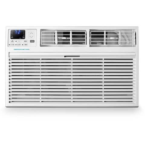 Emerson Quiet Kool 230V 10,000 BTU Through-the-Wall Air Conditioner with 10,600 BTU Supplemental Heating