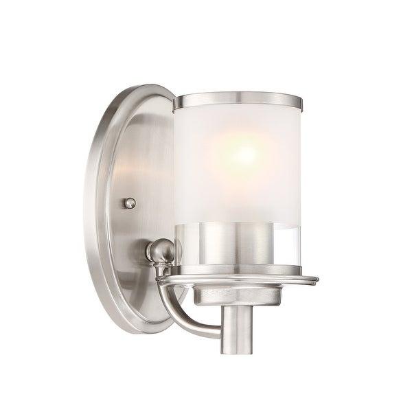 Designers Fountain 6691 Essence Single Light 5 Wide Bathroom Sconce
