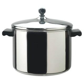 Farberware 50006 Stainless Steel Covered Stock Pot, 8 Quart