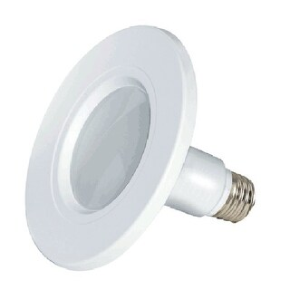 Satco 1002 S9599 LED Recessed Downlight Retrofit Lamp, White