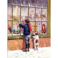 "Christmas Wish - Junior Small Paint By Number Kit 8.75""X11.75"""