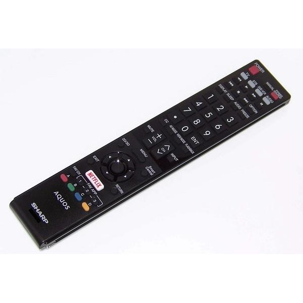 OEM Sharp Remote Originally Shipped With LC60EQ30U, LC-60EQ30U, LC60LE661U, LC-60LE661U