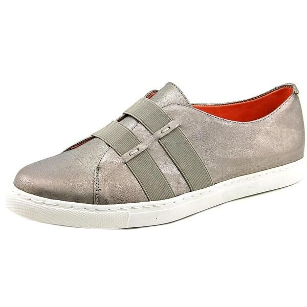 Taryn Rose Sasha Women Leather Silver Fashion Sneakers
