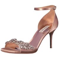 BADGLEY MISCHKA Womens Bankston Open Toe Special Occasion Ankle Strap Sandals