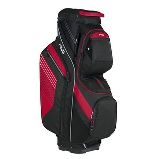 New Ping 2017 Traverse Golf Cart Bag (Black / Red) - black / red