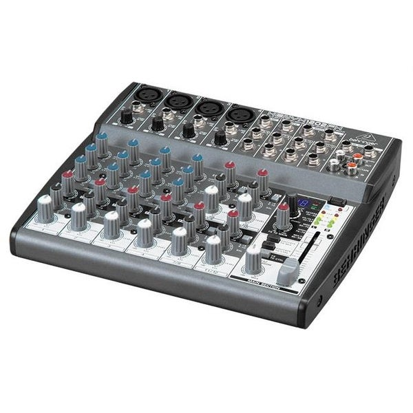 Premium 12-Input 2-Bus Mixer with XENYX Mic Preamps British EQs