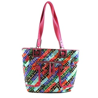 Rosetti Spring Dale Women Synthetic Multi Color Tote - Multi-Color