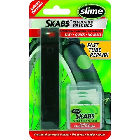 Slime 20027 SKABS Peel & Stick Tire Patch Kit