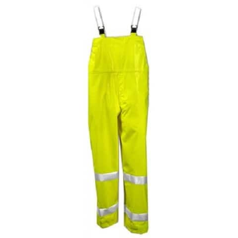 Tingley O53122-LG Comfort-Brite High Visibility PVC Overalls, Large