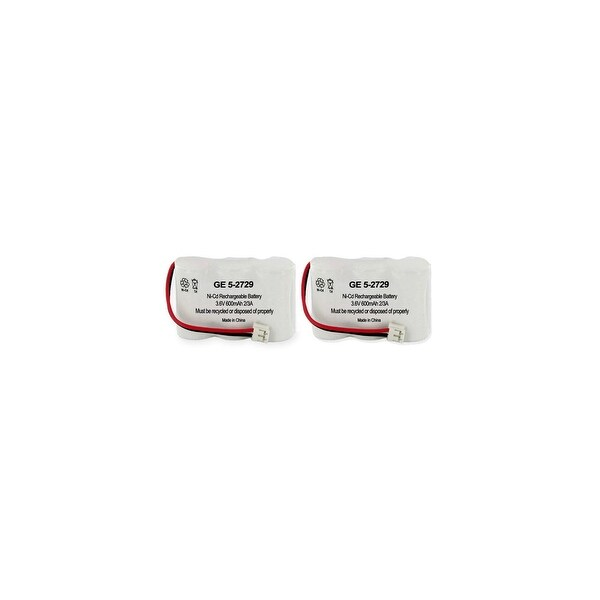GE/RCA 5-2729 (2 Pack) Replacement Battery