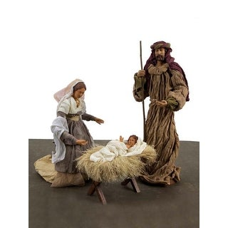 3-Piece Neutral Warmth Holy Family  Christmas Nativity Set