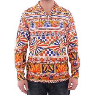 Dolce & Gabbana Multicolor Catwalk Casual Shirt