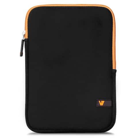 V7 Ultra Protective Sleeve for iPad mini and 7.9 Tablets, Black & Orange