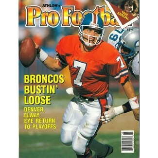 045ce0c61 Shop John Elway unsigned Denver Broncos Athlon Sports 1989 NFL Pro Football  Preview Magazine - Free Shipping On Orders Over  45 - Overstock - 20686403