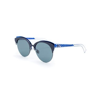 Christian Dior Women's Safilo Diorama Club Metal Sunglasses - Black