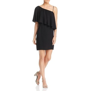 Ella Moss Womens Casual Dress Off-The-Shoulder Ruffled - l