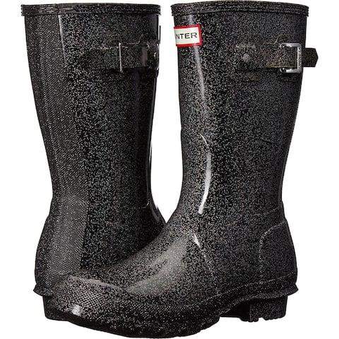 Hunter Womens starcloud Shor Rubber Closed Toe Mid-Calf Rainboots