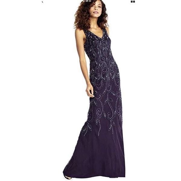 c92e3917fae Shop Adrianna Papell Beaded Long Dress