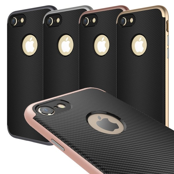 For iPhone 7 Plus Shockproof Hybrid Bumper Frame Protective Hard Case Cover