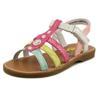 Rachel Shoes Geneva Open Toe Leather Sandals