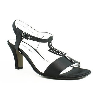 New David Tate Womens Black Sandals Size 6