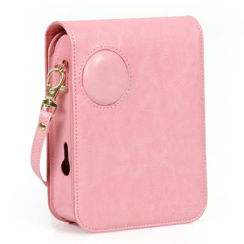 Polaroid Leatherette Case for Polaroid POP Instant Print Digital Camera (Pink)