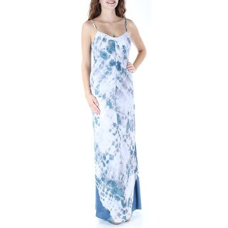 RACHEL ROY $139 Womens New 2721 White Tie Dye Slitted Shift Dress XS B+B