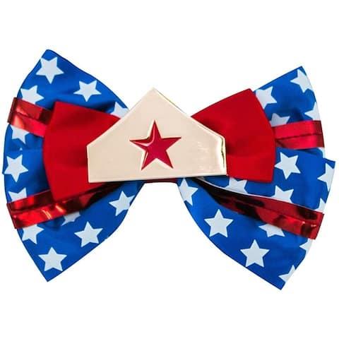 DC Comics Wonder Woman Superhero Hair Bow Pin