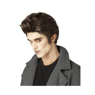 California Costumes Love at First Bite Costume Wig (Brown) - Brown