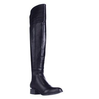 B35 Rene Over The Knee Boots, Black