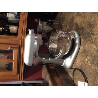KitchenAid RKP26M1XNP Nickel Pearl 6-quart Pro 600 Bowl-Lift Stand Mixer (Refurbished)