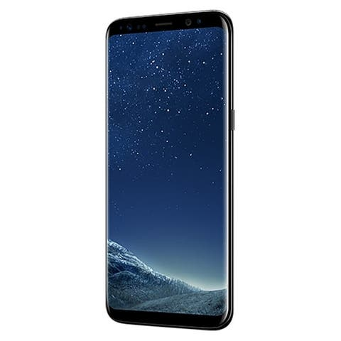 Samsung Galaxy S8 SM-G950U 64GB Black Verizon Unlocked Good Grade B