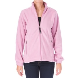Charles River Apparel Womens Voyager Zip Front Long Sleeves Fleece Jacket