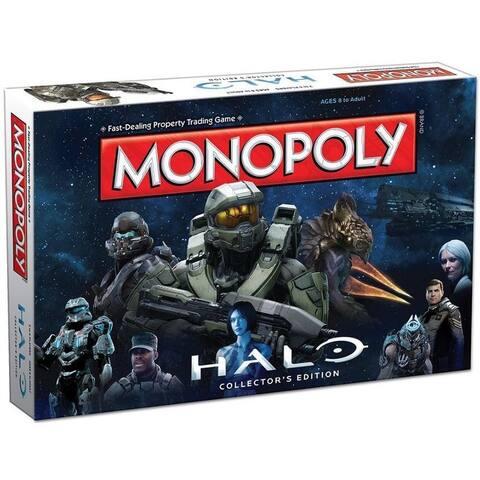 Halo Monopoly Board Game - Multi