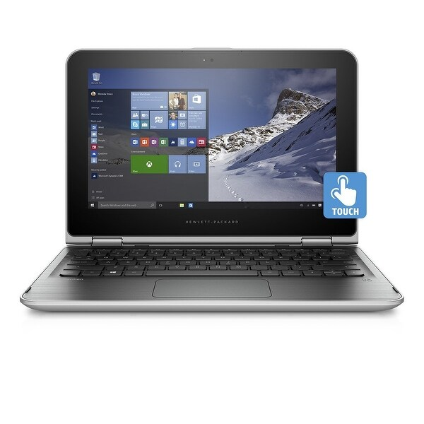 "HP Pavilion 11-K199NR 11.6"" Touch Laptop Intel N3700 1.6GHz 4GB 500GB W10"