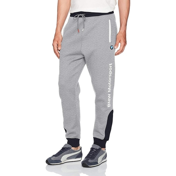 72048bdb9361 Shop Puma Gray Mens Size Large L BMW Motorsport Jogging Stretch Pants -  Free Shipping On Orders Over  45 - Overstock.com - 27286954