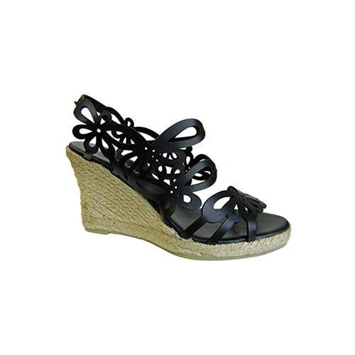 Eric Michael Womens Jillian Wedge Sandals