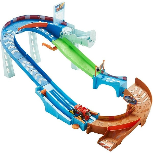 Fisher Price Nickelodeon Blaze and The Monster Machines Flip and Race Speedway