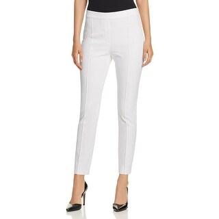 Elie Tahari Womens Gia Dress Pants Pleated Faux Pockets