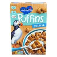 Barbara's Bakery Puffins Cereal - Original - Case of 12 - 10 oz.