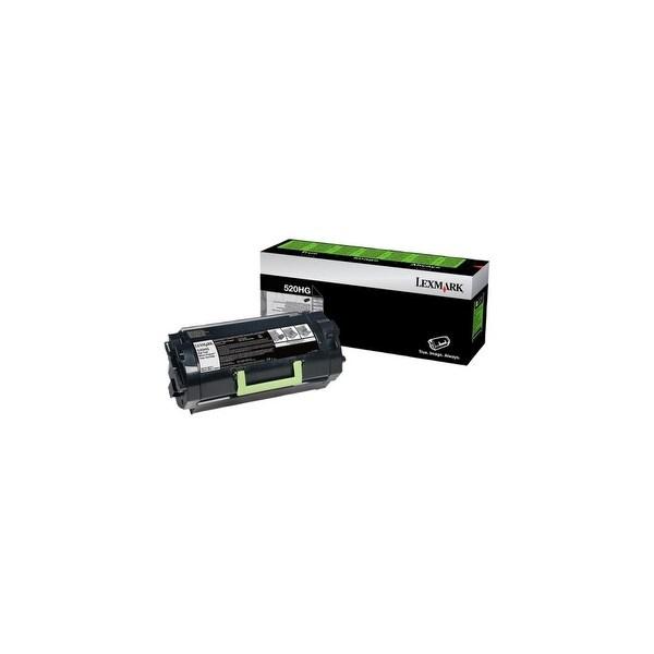 Lexmark 52D0H0G Lexmark 52X Toner Cartridge - Black - Laser - High Yield - 2500 Page - 1 / Pack