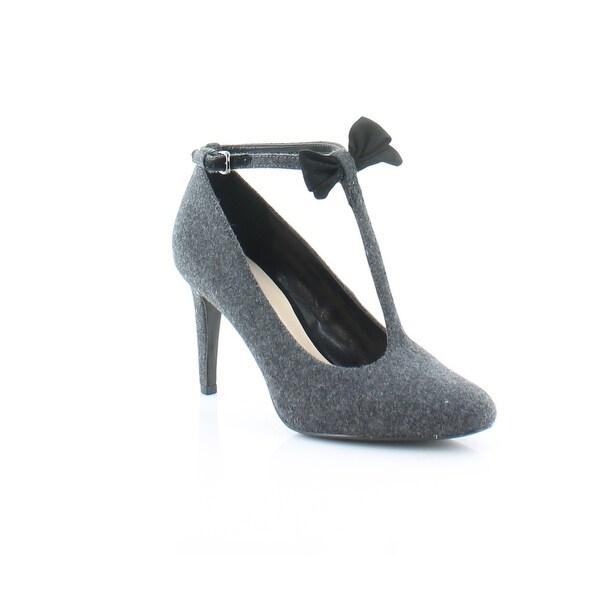 Nine West Hollison Women's Heels Dk Gray / Blk