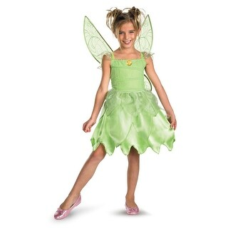 Disguise Disney Tinker Bell and the Fairy Rescue Classic Child Costume - Green