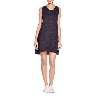 Nation LTD Womens Casual Dress Heathered Criss-Cross Back