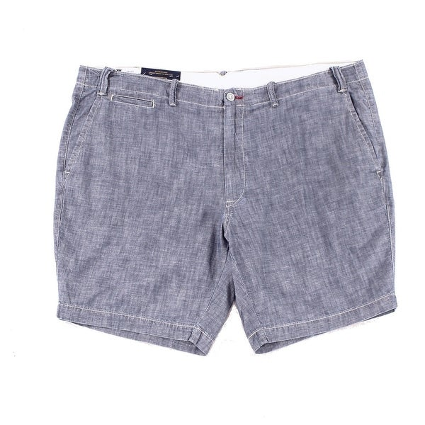 d7c9cd4bf Shop Polo Ralph Lauren Mens Chambray Straight Fit Shorts - On Sale - Free  Shipping On Orders Over  45 - Overstock.com - 22308332