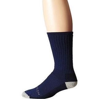Woolrich Mens Ten Mile Hiker Crew Socks, DK.DENIM, L