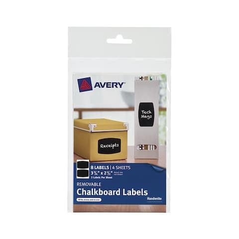 Avery avery rectangle 8pk removable 73301