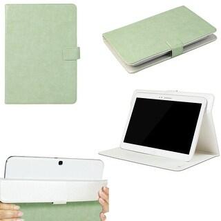 """JAVOedge Vintage Universal 9""""-10"""" Tablet Case for iPad Air, Samsung Note, Tab 3, Nook HD+ 9, Nexus 10 (Green)"""